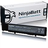 NinjaBatt Laptop-Akku für Dell 7FJ92 Vostro 3400 3500 3700 312-0998 312-0997 0TXWRR 04D3C 0TY3P4 4JK6R Y5XF9 CYDWV - Hohe Leistung [6 Zellen/4400mAh/49Wh]