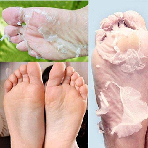 Fuß Peeling Maske Bovake Exfoliating Peel Fuss-Schablone Baby-entfernen weiche Füße Kallus Fest Dead Skin (Baby-fuß-peeling)