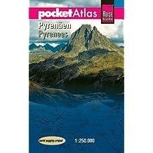 pocketAtlas Pyrenäen 1 : 250 000