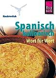 Kauderwelsch, Spanisch kulinarisch Wort für Wort