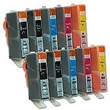 10 Druckerpatronen kompatibel zu HP 364 XL HP364 N9J74AE (2x Schwarz, 2x Photoschwarz, 2x Cyan, 2x Magenta, 2x Gelb)