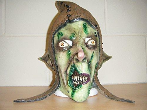 Hob Goblin Zombie Monster Horror Deluxe Halloween Kostüm Kopf (Custom Kostüme Wrestling)