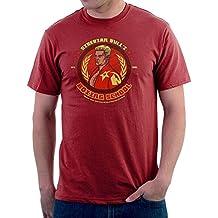 Siberian Bulls Boxing School Ivan Drago Rocky IV Men's T-Shirt