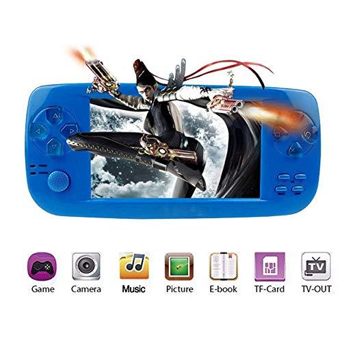 Anbernic Handheld Spielkonsole , Pap-KIII 4.3 Zoll 3000 Retro Spielkonsole Konsole TV Output - Blau Blau Tv