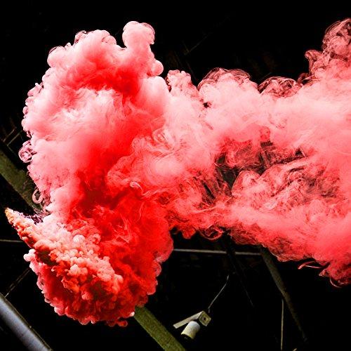 Rauchtopf Rot - Rauchbombe im kräftigen Rot thumbnail