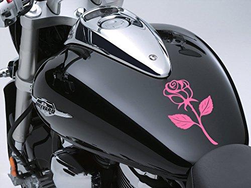 Paire de Evil Eye Design Eyes en violet pour casque moto biker Sticker voiture 80/x 40/mm chaque