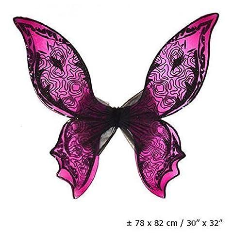 Pinkfarbene Feenflügel der