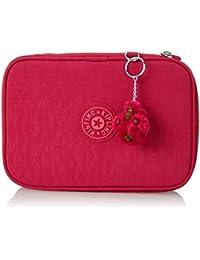 Kipling - 100 PENS - Estuche grande - Cherry Pink Mix - (Rosa)