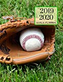 2019 2020 Baseball Game 15 Months Daily Planner: Academic Hourly Organizer In 15 Minute Interval; Appointment Calendar With Address Book & Note Section; Monthly & Weekly Goals Journal With Quotes