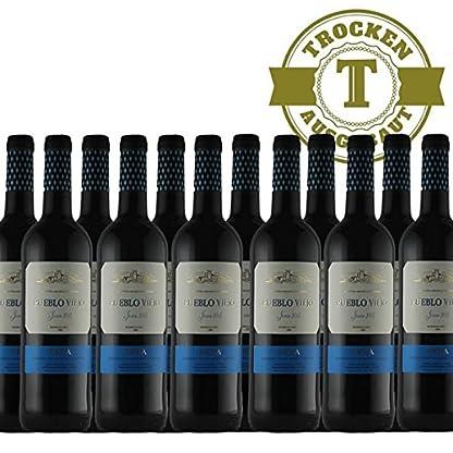 Rotwein-Spanien-Rioja-Pueblo-Viejo-Tempranillo-2016-halbtrocken-12-x-075l-VERSANDKOSTENFREI