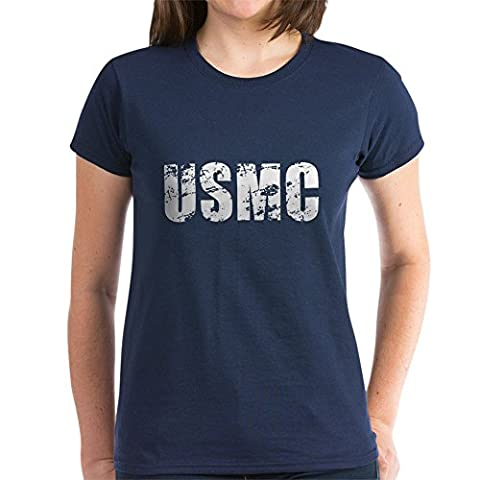 CafePress - USMC - Womens Cotton T-Shirt