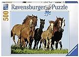 Ravensburger–14717–Horde von Pferden Puzzle–500Teile