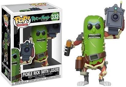 Funko Pop! - Morty: Pickle Rick con Laser (27862)