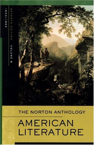 Norton Anthology of American Literature: 1820-1865 v. B