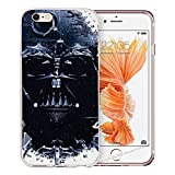 blitz-versand-germany Blitz® JEDI STAR WARS Schutz Hülle Transparent TPU Cartoon SAMSUNG Galaxy M4 S7 EDGE