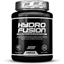 XCore Hydro Fusion Proteína de Suero de Leche en Polvo 900g - Suplemento para el Crecimiento del Músculo y la Recuperación - Con el Mejor Sabor a Fresa - Fácil de Digerir - 29 Dosis