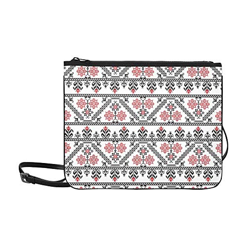 AGIRL Design inspiriert von rumänischen benutzerdefinierten hochwertigen Nylon Slim Clutch Bag Cross-Body Bag Umhängetasche