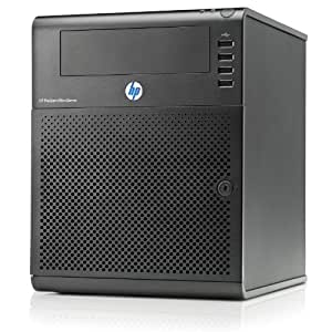 HP 658553-421 ProLiant MicroServer Tour ultra micro N40L 1 processeur AMD Turion II Neo 1.5 Ghz Contrôleur SATA 150Watts