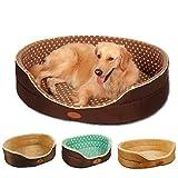 Meiying - Cuccia per cani in morbido pile, doppio lato, per tutte le stagioni, XL