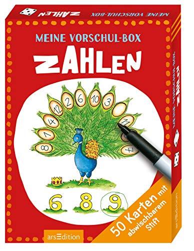 Meine Vorschul-Box Zahlen (Stifte Box Zählen)