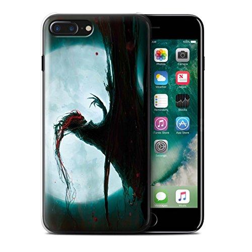 Offiziell Chris Cold Hülle / Case für Apple iPhone 7 Plus / Ghouls der Furcht Muster / Dämonisches Tier Kollektion Dramargu/Vollmond