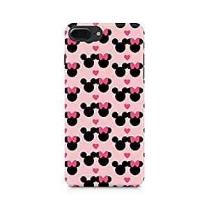 PRINTASTIC Mickie Minnie Premium Printed Mobile Back Case For Apple iPhone 7 Plus