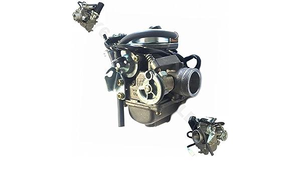 125 150cc Vergaser Komplett Ø24 5mm Z B Für Baotian Benzhou Hyosung Znen China Roller Gy6 Auto