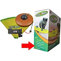 MSUN Cat's Meow Electronic Interactive Cat Toy V3 Version with BL-2600 Li-ion Battery