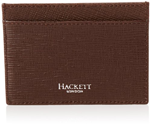 hackett-herren-curzon-card-holder-kreditkartenhlle-braun-878brown-11x9x6-cm