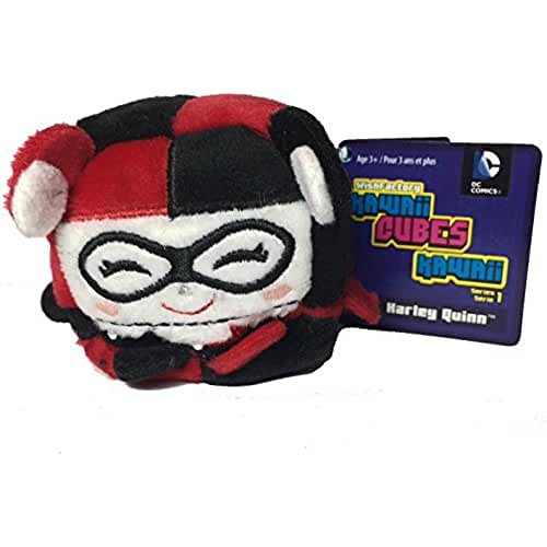 Wish Factory Kawaii Cube DC Comics: Harley Quinn Plush, Small by Kawaii Cubes