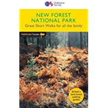 Pathfinder New Forest National Park Great Walks for all the family (Short Walk Guide)