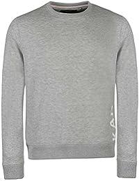 Kangol Herren Sweatshirt Langarm Rundhals Sweater Logo Schriftzug