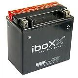 Iboxx Motorrad Batterie YTX14-BS, 12 Volt, 12 Ah, AGM wartungsfrei inkl Säurepack für BMW R 1200 GS Speichenrad, 303, R12/K25, Bj. 2008