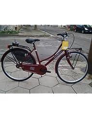 Bicicleta Reina Holanda Grace 26de mujer Caminar, ciruela, -