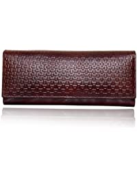 Yark Women's Clutch (Brown)