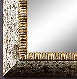 Online Galerie Bingold Spiegel Wandspiegel Badspiegel Flurspiegel Garderobenspiegel - Über 200 Größen - Turin Silber 4,0 - Außenmaß des Spiegels 60 x 70 - Wunschmaße auf Anfrage - Antik, Barock