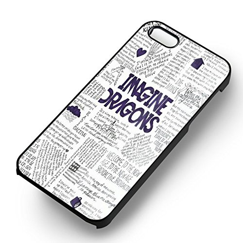 Imagine Dragons Lyric Collage for Cover iPhone 7 Case [White Hardplastic Case] L4O6NX