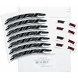 Zipp Z91508701A 303 - Pegatinas para llantas de bicicleta, color negro