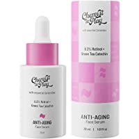 Chemist at Play Anti-Aging Face Serum with Ceramides | 0.3% Retinol and Green Tea Catechin | All Skin Types | For mature…