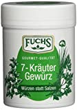 "Fuchs Würzen statt Salzen ""7 Kräuter"" Kräuter-Gewürzmischung Gewürze Set, verschiedene Kräuter, für Salate, Gemüse, Nudeln und Geflügel, 3er Pack (3 x 50 g)"