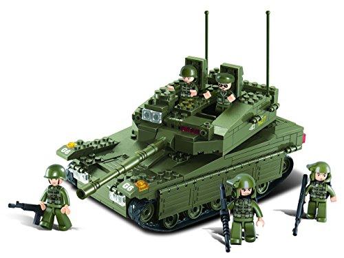 Sluban m38-b0305 - modellino di carro armato da costruire, grande