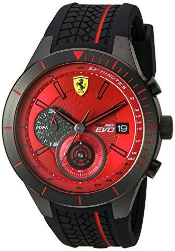 Ferrari De los hombres Watch RedRev Evo Reloj 0830343