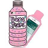 NALIA 3D Cover compatibile con iPhone 8/7, Custodia Protezione Ultra-Slim Cartoon Case Protettiva Morbido Telefono Cellulare in Silicone Gel, Gomma Bumper Sottile, Designs:Boys Tears