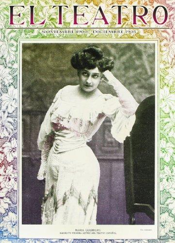 Teatro Noviembre 1900 Diciembre 1905
