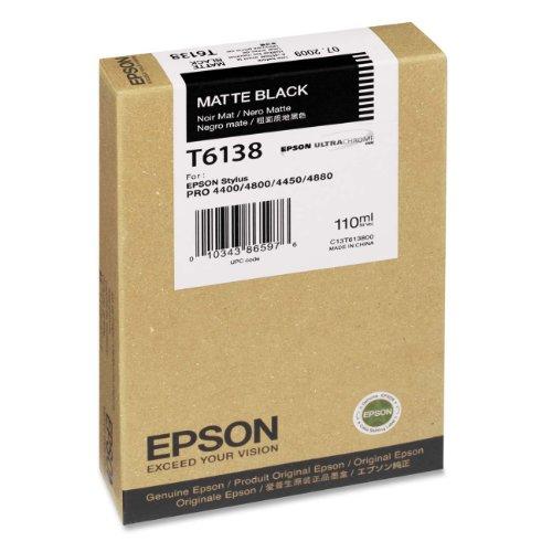 Preisvergleich Produktbild Epson T6138 Tintenpatrone, Singlepack, matt schwarz