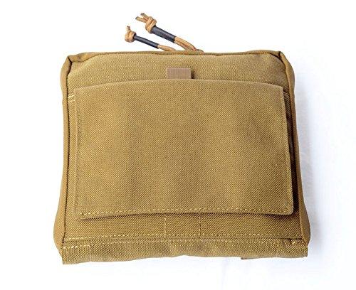 Low Profile OP Edc tattico borsa in nylon molle Tactical Utility organizer Pouch organizer Stealth admin organizzatore sacchetto, Tan Tan