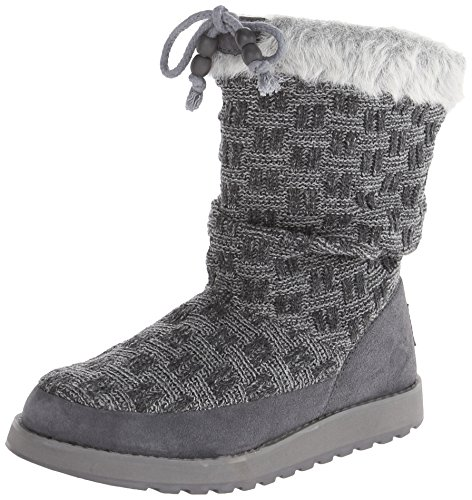 Skechers Keepsakes Blur 46653 BLK, Stivali donna Charcoal/Grey