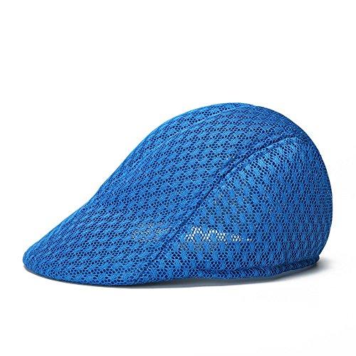 Doublebulls hats Casquette Plate De Hommes Femmes Unisex De Plein Air Perméable À L'Air Chapeau De Soleil D'Été