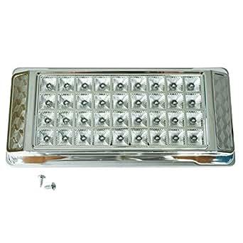 carchet plafonnier a 36 led blanc 12v pour voiture accessoire luminaires et eclairage. Black Bedroom Furniture Sets. Home Design Ideas