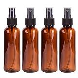 8von 100ml Spray Flasche feines Spray Kunststoff Flasche rund Pet Cosmetics Split Ladekabel Flasche Probe Flasche, C